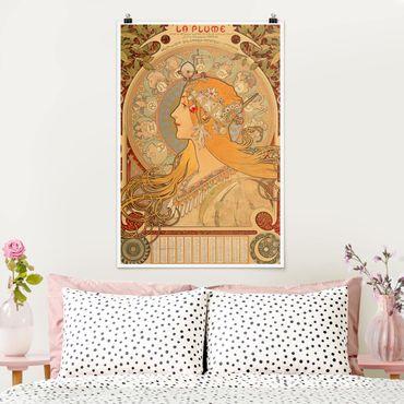 Poster - Alfons Mucha - Sternkreiszeichen - Hochformat 3:2