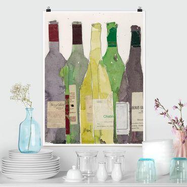 Poster - Wein & Spirituosen III - Hochformat 3:4