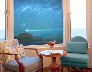 Fensterfolie - Sichtschutz Fenster Leuchtturm - Fensterbilder