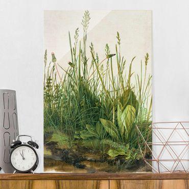 Glasbild - Albrecht Dürer - Das große Rasenstück - Hochformat 3:2