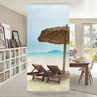 Raumteiler - Beach of Dreams 250x120cm