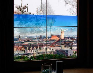 Fensterfolie - Sichtschutz Fenster München - Fensterbilder