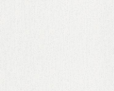 A.S. Création Unitapete Meistervlies 2020 in Weiß, Überstreichbar