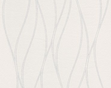 A.S. Création Strukturtapete Meistervlies 2020 in Weiß, Überstreichbar