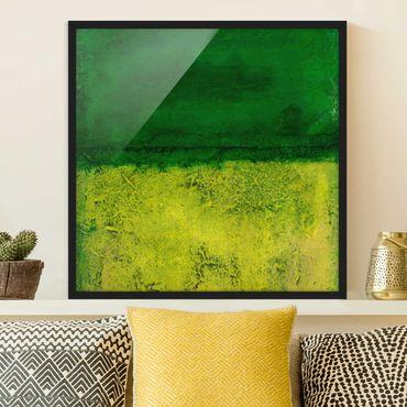 Bild mit Rahmen - Elements of Nature - Quadrat 1:1