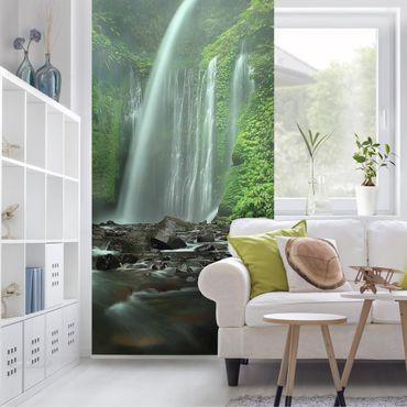 Raumteiler - Tropischer Wasserfall 250x120cm