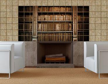 Fliesenbild - Altes Archiv