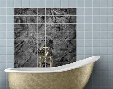 Fliesenbild - Aufwühlendes Bad