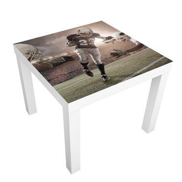 Möbelfolie für IKEA Lack - Klebefolie Tackling