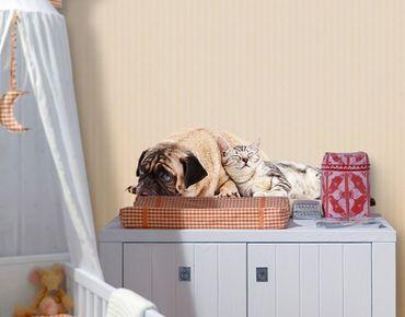 Wandtattoo Hund Katze No.511 Beste Freunde