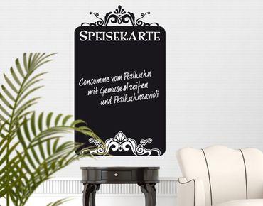 Wandtattoo Sprüche - Wandworte Kreidetafel No.EK83 Speisekarte