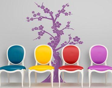 Wandtattoo Babyzimmer Baum No.1245 Kirschblütenbaum