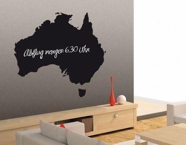 Wandtattoo Kreidetafel No.EK88 Australien