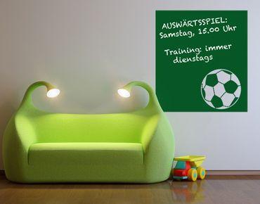 Wandtattoo Fußball - Kreidetafel No.UL719 Sporttermine
