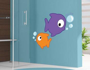 Wandtattoo Kinderzimmer Fische No.FB162 Fische