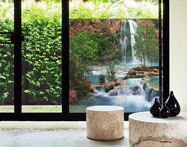 Fensterfolie - Sichtschutz Fenster Nationalpark - Fensterbilder