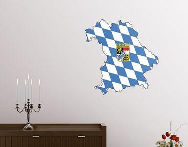 Bayern Wandtattoo - No.AC103 Bayern
