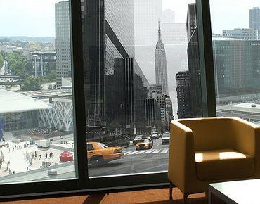 Fensterfolie - Sichtschutz Fenster Empire State Building - Fensterbilder