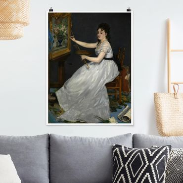 Poster - Edouard Manet - Eva Gonzalès - Hochformat 3:4