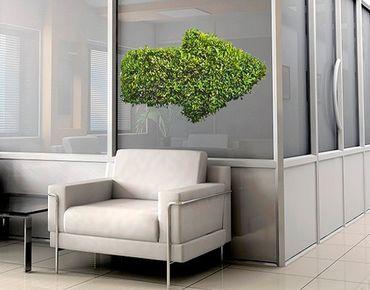 Fensterfolie - Fenstersticker No.441 Grüner Pfeil - Fensterbilder