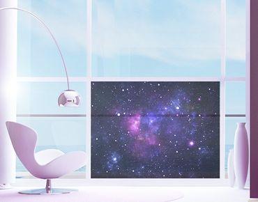 Fensterfolie - Sichtschutz Fenster Galaxie - Fensterbilder