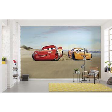 Disney Kindertapete - Cars Beach Race - Komar Fototapete