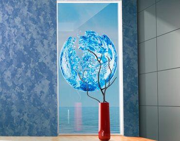 Fensterfolie - Fenstersticker No.499 Wasserkugel - Fensterbilder