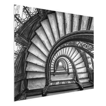 Forex Fine Art Print - Chicagoer Treppenhaus - Querformat 3:4