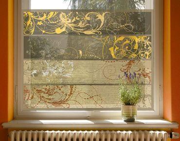 Fensterfolie - Sichtschutz Fenster Grunge Banner Assortment - Fensterbilder