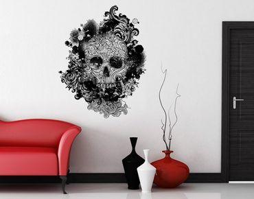 Wandtattoo No.503 Skull