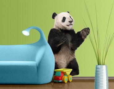 Wandtattoo Bär No.509 Sitzender Panda