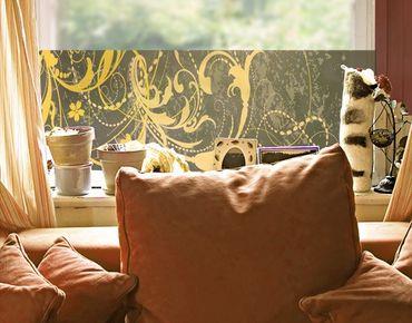 Fensterfolie - Sichtschutz Fenster Grunge Banner I - Fensterbilder