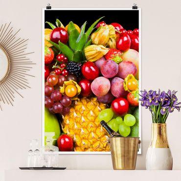 Poster - Fruit Bokeh - Hochformat 3:2