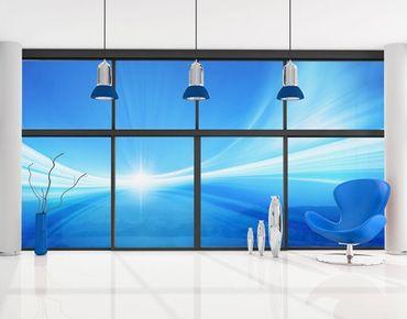 Fensterfolie - XXL Fensterbild Abstract Background - Fenster Sichtschutz