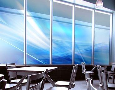 Fensterfolie - XXL Fensterbild Aquatic - Fenster Sichtschutz