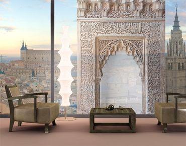 Fensterfolie - XXL Fensterbild Alhambra - Fenster Sichtschutz