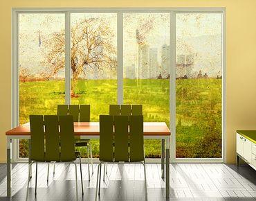 Fensterfolie - XXL Fensterbild Daybreak - Fenster Sichtschutz