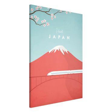 Magnettafel - Reiseposter - Japan - Memoboard Hochformat 3:2