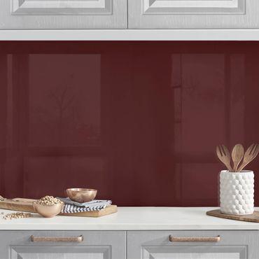 Küchenrückwand - Burgund