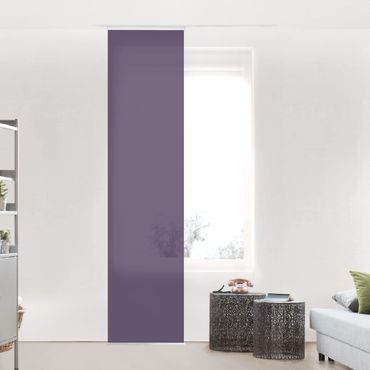 Schiebegardinen Set - Rotviolett - Flächenvorhänge