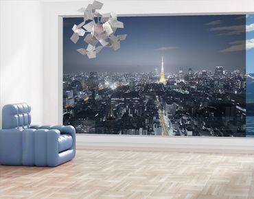 Fensterfolie - XXL Fensterbild Tokio - Fenster Sichtschutz