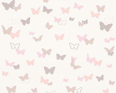 Esprit Mustertapete Esprit Kids 5 Sweet Butterfly in Beige, Rosa, Weiß