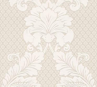Architects Paper Mustertapete Luxury wallpaper in Creme, Metallic