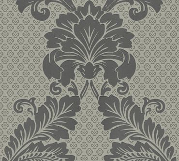 Architects Paper Mustertapete Luxury wallpaper in Grau, Metallic