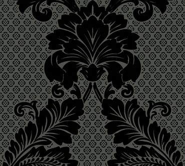 Architects Paper Mustertapete Luxury wallpaper in Schwarz, Grau