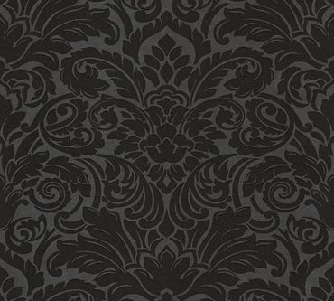 Architects Paper Mustertapete Luxury wallpaper in Schwarz, Metallic