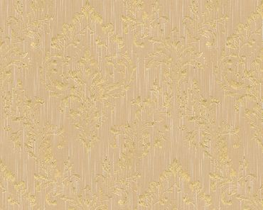 Architects Paper Unitapete Metallic Silk in Beige, Metallic