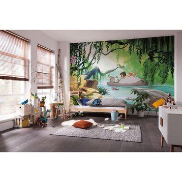 Disney Kindertapete - Jungle book swimming with Baloo - Komar Fototapete