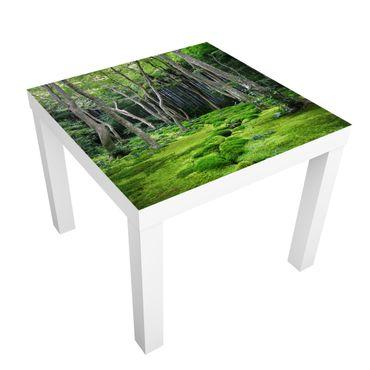 Möbelfolie für IKEA Lack - Klebefolie Growing Trees
