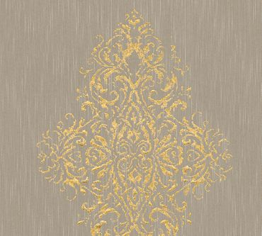 Architects Paper Mustertapete Luxury wallpaper in Beige, Metallic